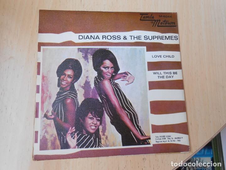 Discos de vinilo: DIANA ROSS & THE SUPREMES, SG, LOVE CHILD + 1, AÑO 1968 - Foto 2 - 269081293
