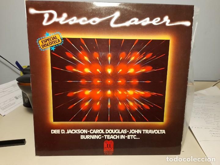 LP DISCO LASER ( ESPECIAL DISCOTECA ( DEE D. JACKSON, CAROL DOUGLAS, BURNING, FERRARA, ETC ) (Música - Discos - LP Vinilo - Disco y Dance)