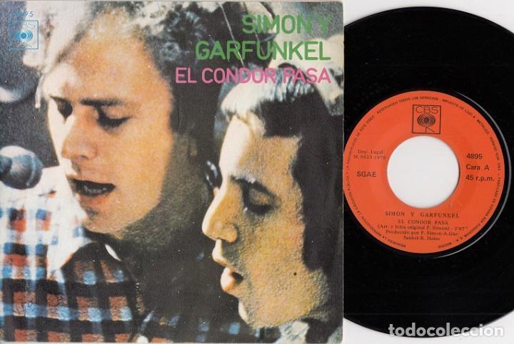SIMON & GARFUNKEL - EL CONDOR PASA - SINGLE DE VINILO EDICION ESPAÑOLA (Música - Discos - Singles Vinilo - Pop - Rock Internacional de los 50 y 60)