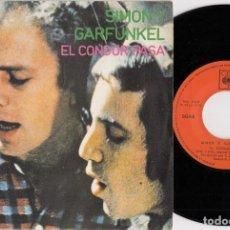 Discos de vinilo: SIMON & GARFUNKEL - EL CONDOR PASA - SINGLE DE VINILO EDICION ESPAÑOLA. Lote 269082803