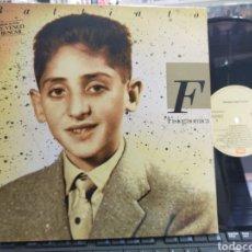 Disques de vinyle: FRANCO BATTIATO LP FISIOGNOMICA ESPAÑA 1988 CARPETA DOBLE. Lote 269087318