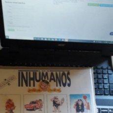 Disques de vinyle: CARATULA SIN DISCO INHUMANOS. Lote 269093348