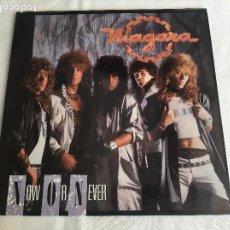 Discos de vinilo: NIAGARA -NOW OR NEVER- (1988) LP DISCO VINILO. Lote 269093633
