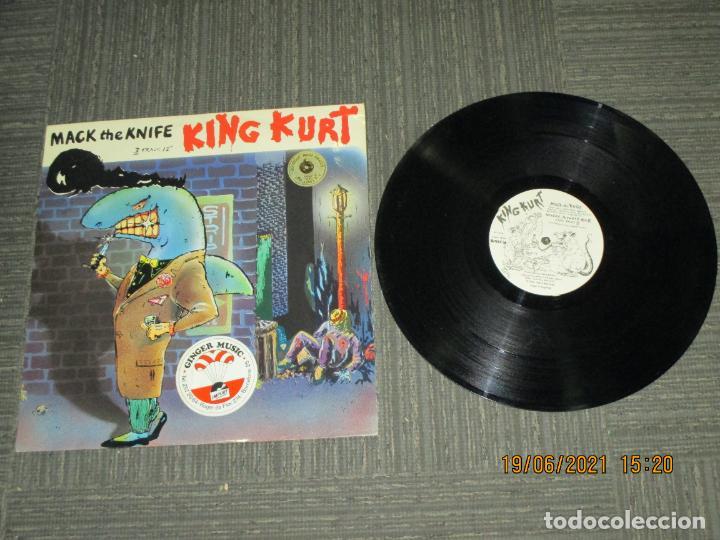 KIG KURT - MACK THE KNIFE - MAXI - UK - STIFF RECORDS - REF S BUY 199 - LV - (Música - Discos de Vinilo - Maxi Singles - Jazz, Jazz-Rock, Blues y R&B)