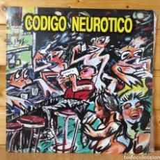 Disques de vinyle: LP ALBUM , CODIGO NEUROTICO , EN LA BARRA DEL BAR. Lote 269105168