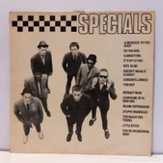 Discos de vinilo: THE SPECIALS - SPECIALS. VINILO (LP, ALBUM). SKA / ROCKSTEADY. CHRYSALIS 1979. CCM2. Lote 269111688