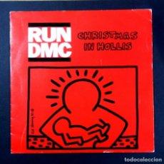 Discos de vinilo: RUN D.M.C - CHRISTMAS IN HOLLIS / PETER PIPER - SINGLE 1987 - LONDON. Lote 269111943