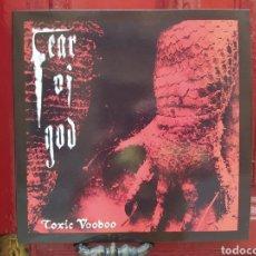 Discos de vinilo: FEAR OF GOD –TOXIC VOODOO. LP VINILO. TRASH METAL. NUEVO.. Lote 269117643