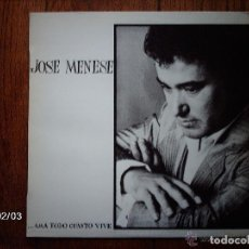Discos de vinilo: JOSE MENESE - ...AMA TODO CUANTO VIVE (LP, PL 35390, RCA, 1982) BUEN ESTADO. Lote 269129678