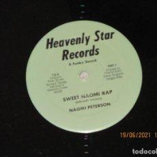 Discos de vinilo: NAOMI PETERSON - SWEET NAOMI RAP - USA - HEAVENLY STAR RECORDS - REF 723 - LV -. Lote 269133568