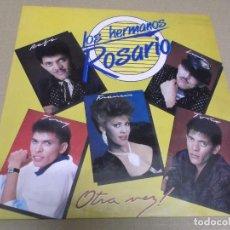 Discos de vinilo: LOS HERMANOS ROSARIO (LP) OTRA VEZ AÑO 1990. Lote 269135833