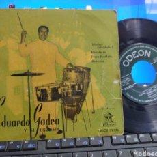 Discos de vinilo: EDUARDO GADEA EP MUCHAS FELICIDADES! + 3 1958 ESCUCHADO. Lote 269138688