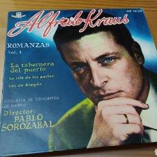 Discos de vinilo: DISCO VINILO SINGLE ALFREDO KRAUS. Lote 269159183