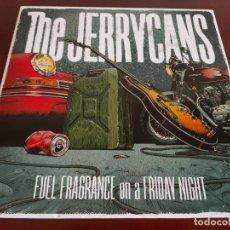 Disques de vinyle: THE JERRYCANS LP RED VINYL SPANISH HARD ROCK/GARAGE 2020, LTD. SOLO 200 ,CON TYLA (DOGS DAMOUR). Lote 269165388