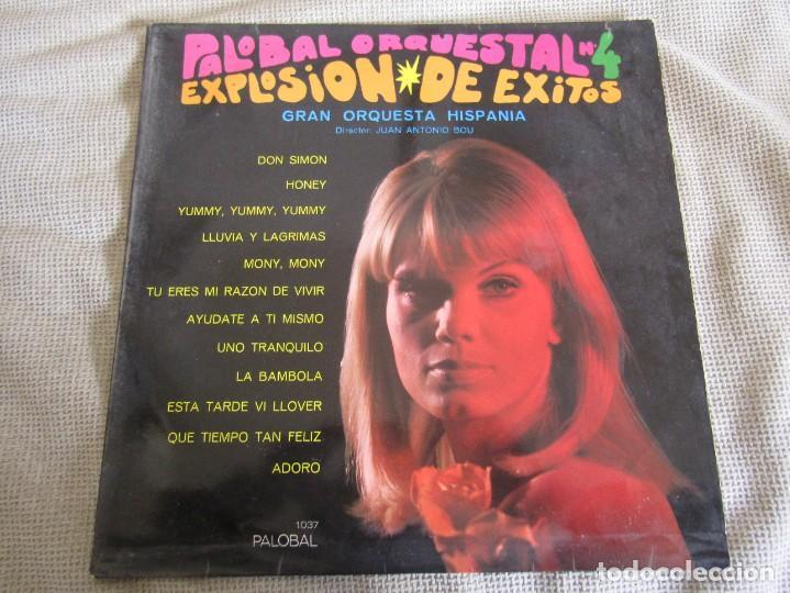 PALOBAL ORQUESTAL Nº 4 - EXPLOSION DE EXITOS - GRAN ORQUESTA HISPANIA LP (Música - Discos - LP Vinilo - Orquestas)