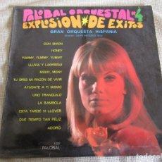 Discos de vinilo: PALOBAL ORQUESTAL Nº 4 - EXPLOSION DE EXITOS - GRAN ORQUESTA HISPANIA LP. Lote 269167723