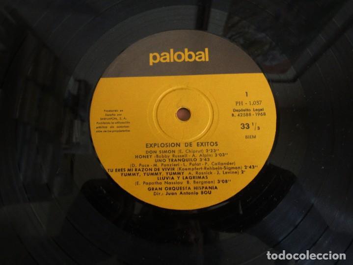 Discos de vinilo: Palobal Orquestal Nº 4 - Explosion de Exitos - Gran Orquesta Hispania LP - Foto 4 - 269167723