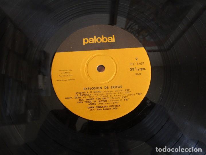 Discos de vinilo: Palobal Orquestal Nº 4 - Explosion de Exitos - Gran Orquesta Hispania LP - Foto 6 - 269167723