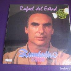 Discos de vinilo: RAFAEL DEL ESTAD - ROMANTICO - EXITOS - LP PASARELA 1988 PRECINTADO - SEVILLANAS. Lote 269169598