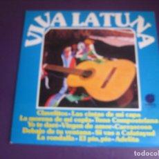 Discos de vinilo: VIVA LA TUNA - LP IMPACTO 1978 - FARMACIA MADRID - ING TECNICOS BARCELONA - SIN USO. Lote 269171573
