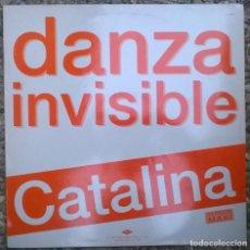 Discos de vinilo: DANZA INVISIBLE. CATALINA/ LOS SECRETOS. SOY COMO DOS. TWINS, SPAIN 1990 MAXI-LP VINILO. Lote 269173093