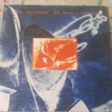 Discos de vinilo: DOBLE LP DE DIRE STRAITS ON EVERY STREET. Lote 269188334