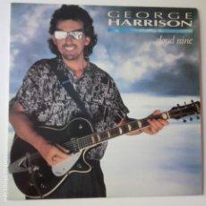 Discos de vinilo: GEORGE HARRISON- CLOUD NINE- SPAIN LP 1987 + ENCARTE- VINILO CASI NUEVO. REF. 3.. Lote 269192113