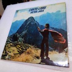 Disques de vinyle: VICTOR JARA - CANTO LIBRE. Lote 269195713