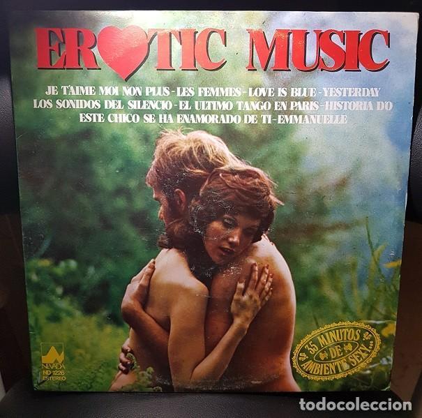THE ROMANTIC SOUNDS ORCHESTRA EROTIC MUSIC LP VINILO NEVADA 1977-ESPAÑA -EASY LISTENING , BALLAD- NM (Música - Discos - LP Vinilo - Orquestas)