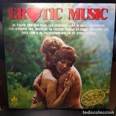 Discos de vinilo: THE ROMANTIC SOUNDS ORCHESTRA EROTIC MUSIC LP VINILO NEVADA 1977-ESPAÑA -EASY LISTENING , BALLAD- NM. Lote 269195883
