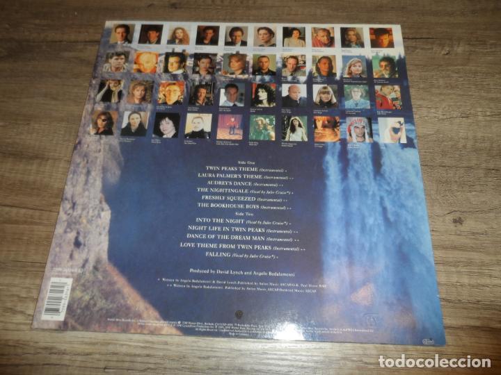 Discos de vinilo: Angelo Badalamenti – Music From Twin Peaks (GERMANY 1990) - Foto 2 - 290093403