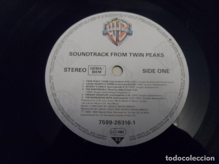 Discos de vinilo: Angelo Badalamenti – Music From Twin Peaks (GERMANY 1990) - Foto 4 - 290093403