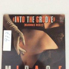 Discos de vinilo: INTRO THE GROOVE (MADONNA'S MEDLEY) MIRAGE. Lote 269206688