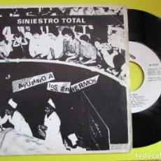 Discos de vinilo: SINISTRO TOTAL AYATOLLAH ! - MATAR JIPIS ENLAS ISLAS CIES - MARIO - FURDEY -. Lote 269208363