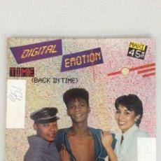 Discos de vinilo: DIGITAL EMOTION. TIME. BACK IN TIME.. Lote 269210193