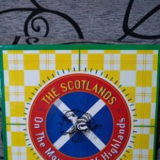 Discos de vinilo: THE SCOTLANDS - ON TE MOUNTAIN OF HIGHLANDS. Lote 269211293