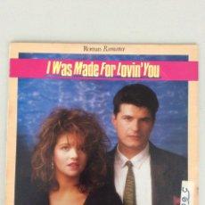 Discos de vinilo: ROMAN ROMANCE. I WAS MADE FOR LOVIN'YOU. Lote 269219353