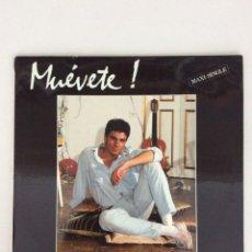 Discos de vinilo: MUÉVETE. BENJA.. Lote 269220093