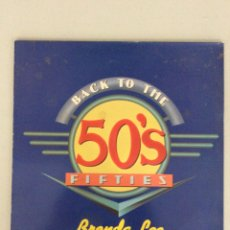 Discos de vinilo: BACK TO THE 50'S FIFTIES. BRENDA LEE. I'M SORRY. Lote 269223533
