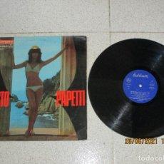 Discos de vinilo: FAUSTO PAPETTI - FAUSTO PAPETTI - SPAIN - DURIUM - REF10.014-E - IBL -. Lote 269237928