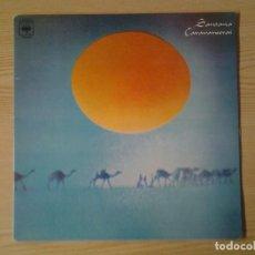 Discos de vinilo: SANTANA -CARAVANSERAI- LP CBS 1972 ED. ESPAÑOLA FORMATO GATEFOLD SLEEVE S 69022 BUENAS CONDIC. Lote 269239593