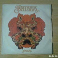 Discos de vinilo: SANTANA -FESTIVAL - LP CBS 1977 ED. ESPAÑOLA S 86020 BUENAS CONDICIONES.. Lote 269240008