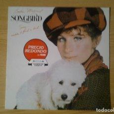 Discos de vinilo: BARBARA STREISAND -SONGBIRD- LP CBS 1978 ED. ESPAÑOLA CBS 460210 1 MUY BUENAS CONDICIONES.. Lote 269240973