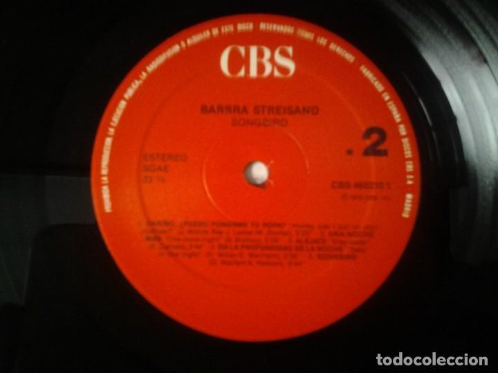 Discos de vinilo: BARBARA STREISAND -SONGBIRD- LP CBS 1978 ED. ESPAÑOLA CBS 460210 1 MUY BUENAS CONDICIONES. - Foto 2 - 269240973