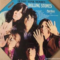 Discos de vinilo: THE ROLLING STONES-HONKY TONK WOMEN-RED LABEL-MONO-1969. Lote 269242008