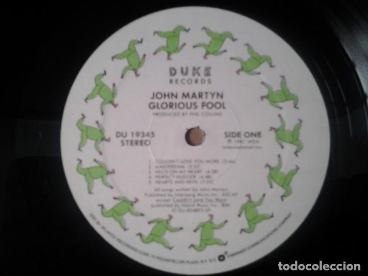 Discos de vinilo: JOHN MARTYN -GLORIOUS FOOL- LP DUKE RECORDS 1981 ED. AMERICANA DU 19345 MUY BUENAS CONDICIONES - Foto 2 - 269243378
