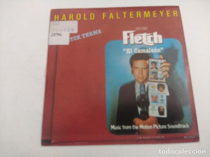 SINGLE/HAROLD FALTERMEYER/FLETCH THEME-EL CAMALEON/PROMOCIONAL. (Música - Discos - Singles Vinilo - Bandas Sonoras y Actores)