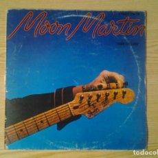 Discos de vinilo: MOON MARTIN -STREET FEVER- LP CAPITOL ED. ESPAÑOLA 1980 10C 064-086.253 BUENAS CONDICIONES. Lote 269245273