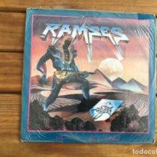 Discos de vinilo: RAMSES-GUERREROS DEL METAL-MÉXICO-1988-SEALED. Lote 269245453
