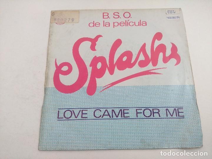 SINGLE/LOVE CAME FOR ME/TEMA SPLASH. (Música - Discos - Singles Vinilo - Bandas Sonoras y Actores)